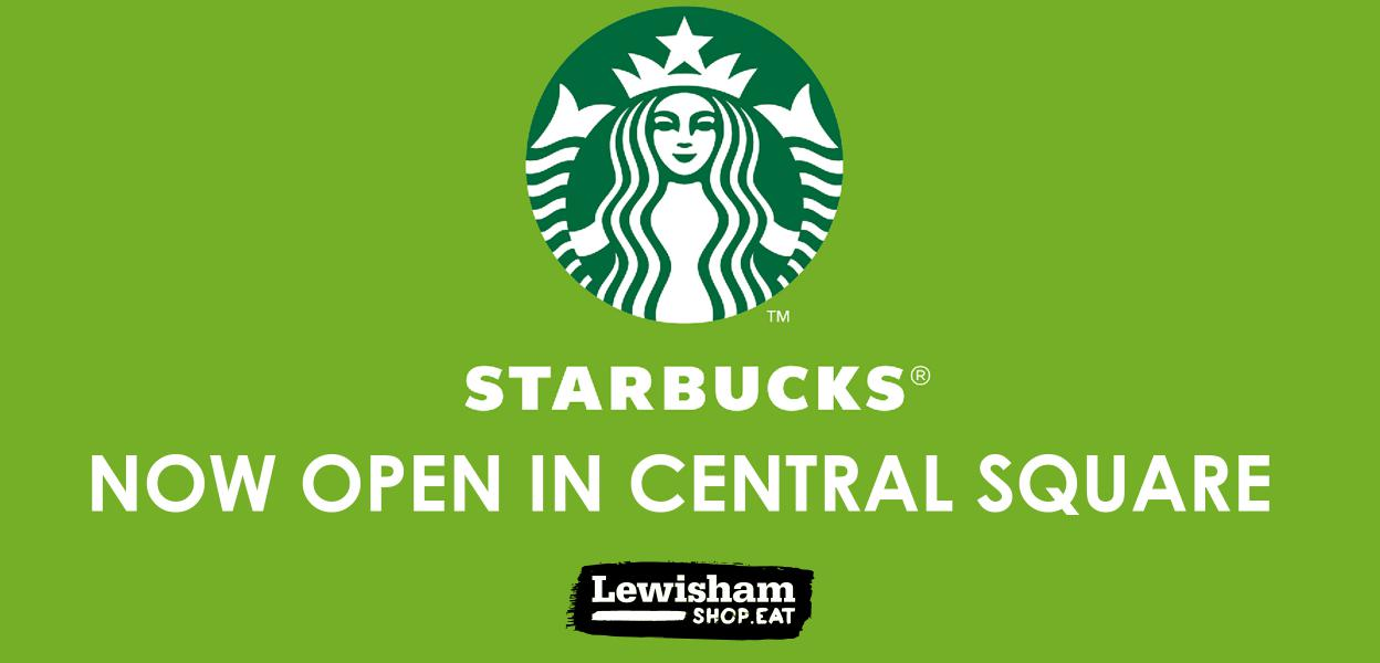 Starbucks opening April 27th