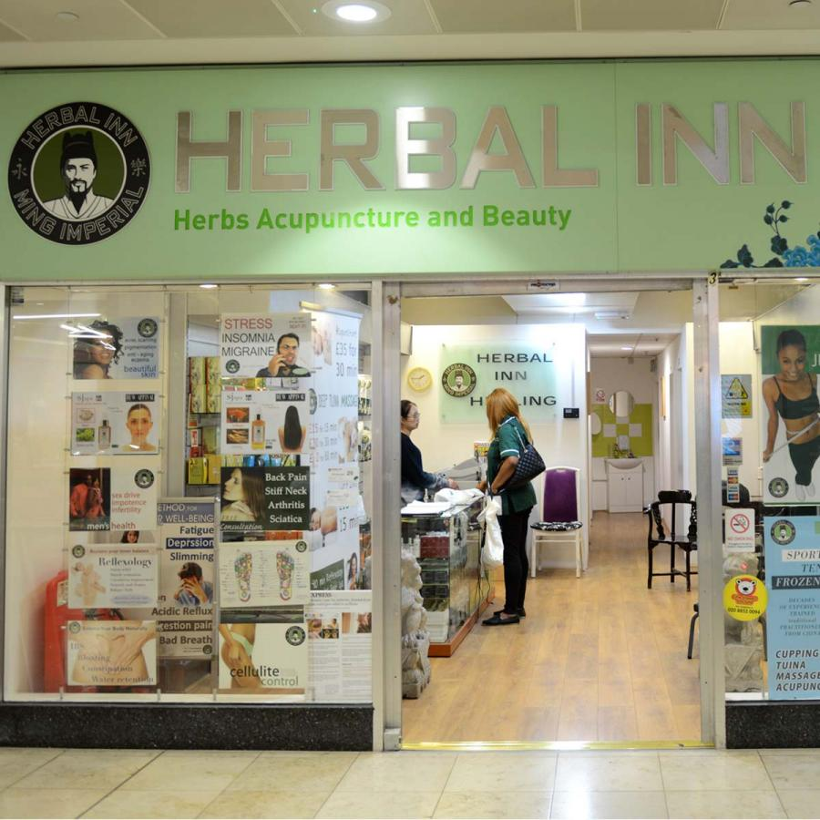 Herbal Inn Shop Front