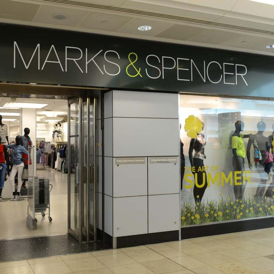 M&S Shop front