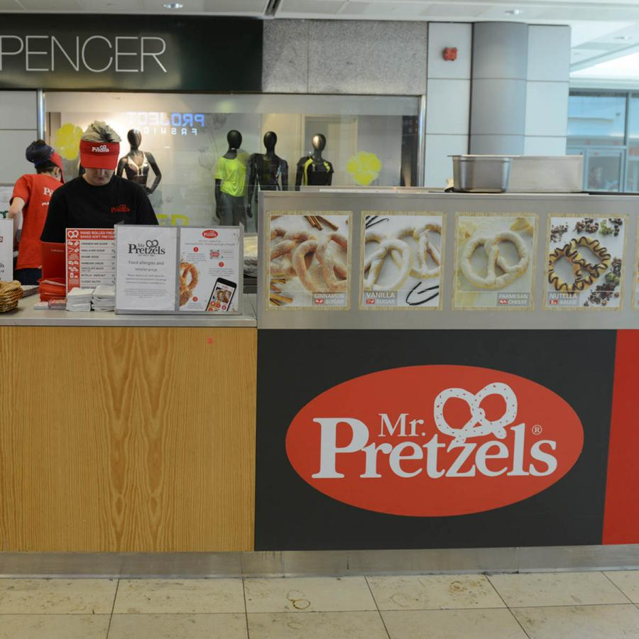 Mr Pretzels Shop Front