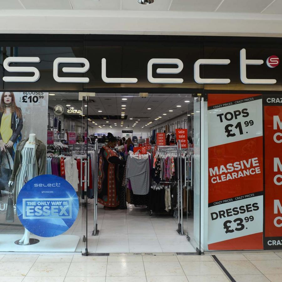 Select Shop Front