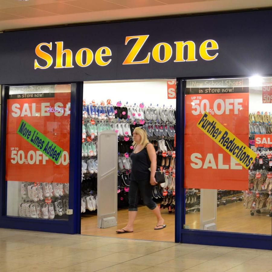 Shoe Zone Shop Front