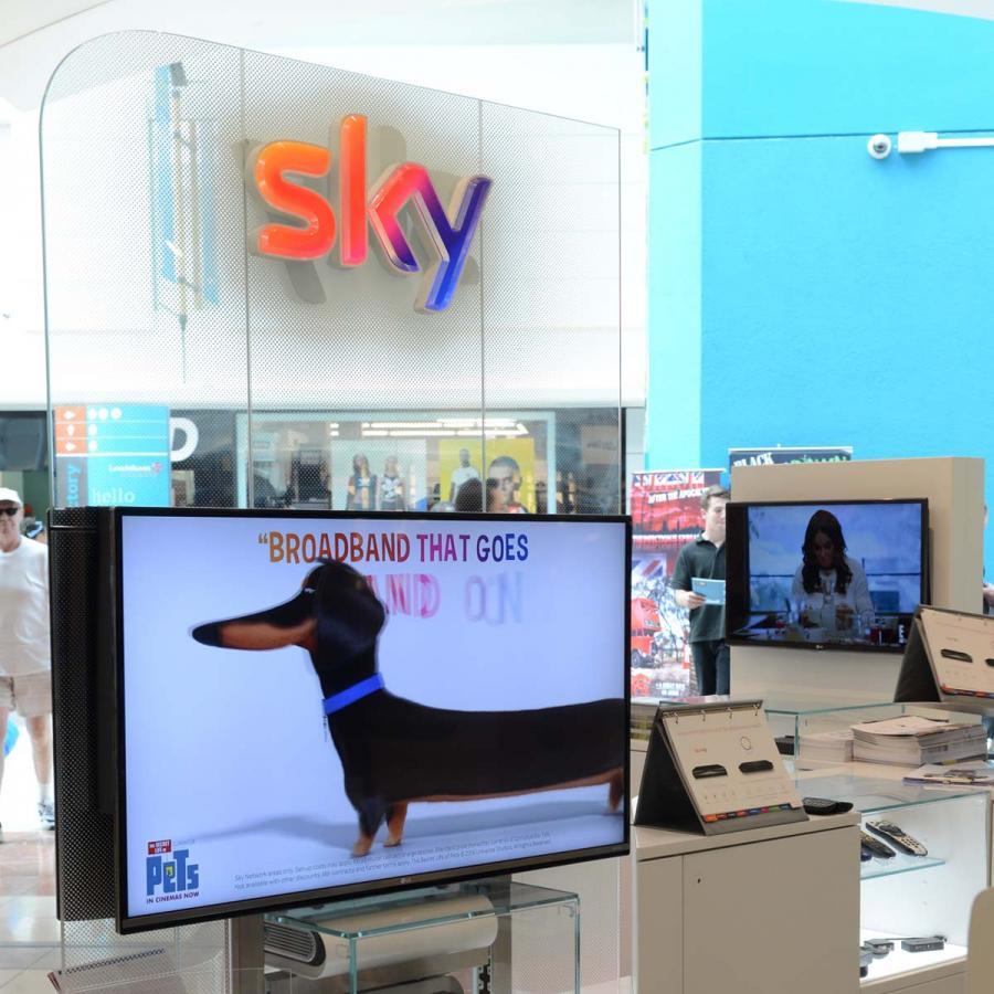 Sky Shop Front