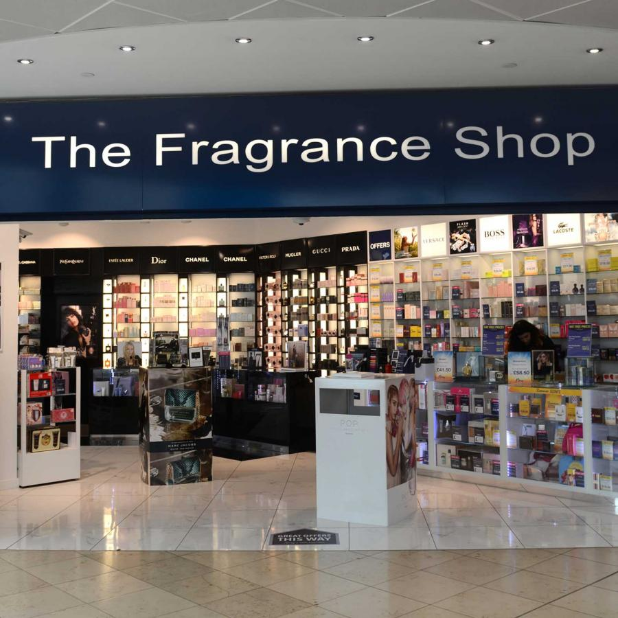 Fragrance shop front