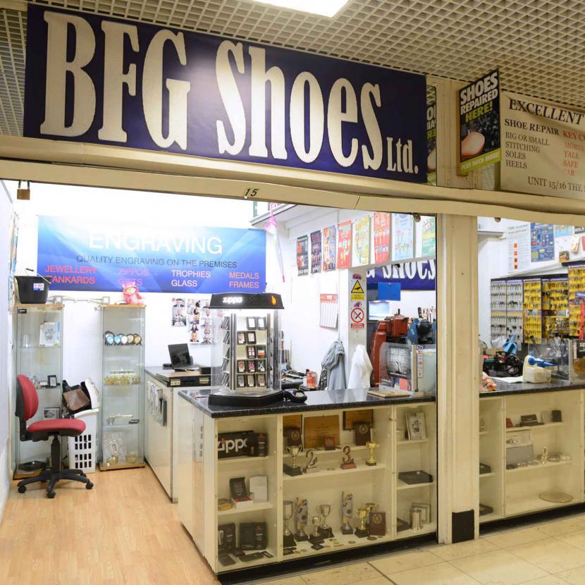 BFG shoes shop front