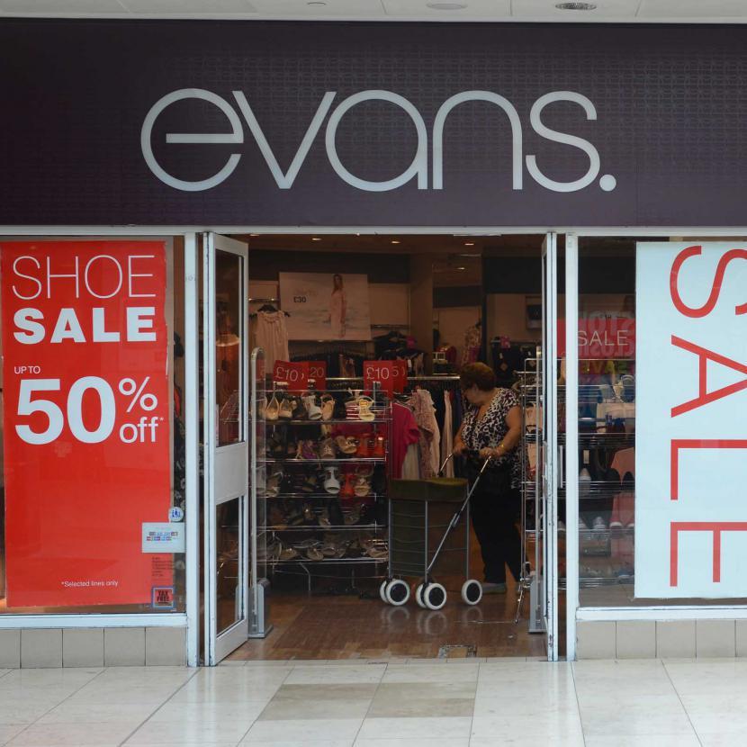 Evans Shop Front