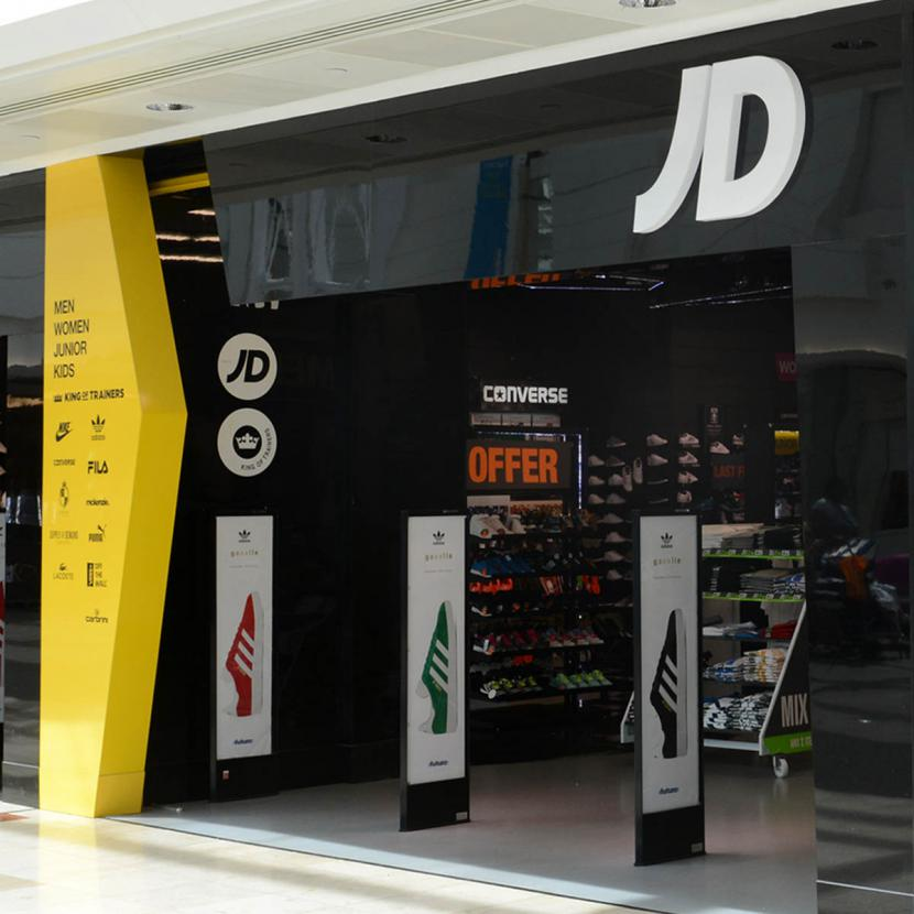6aedd58d80 JD Sports Shop Front