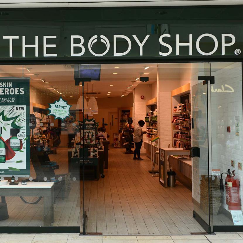 The Body Shop Shop Front