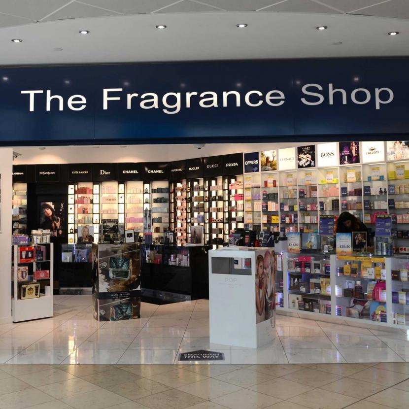 Fragrance shop front