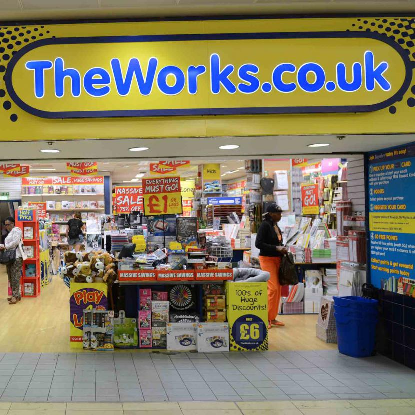 the works art supplies