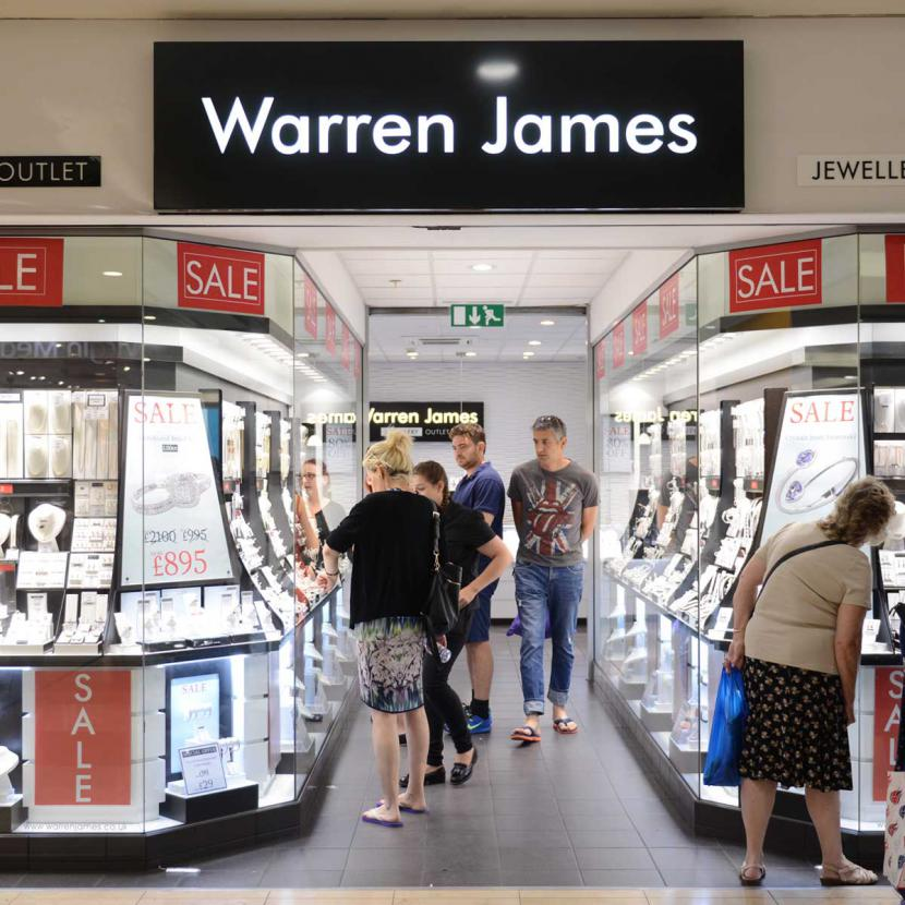Warren James Shop Front