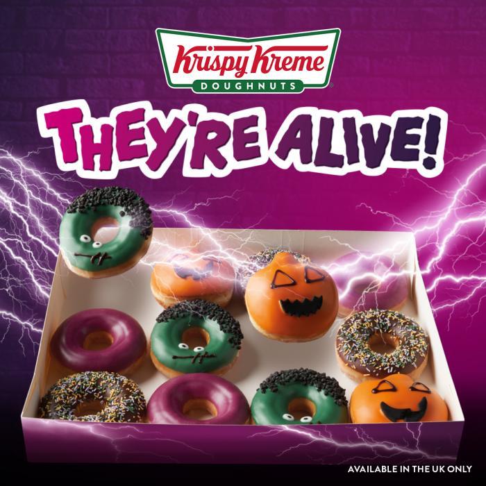 Krispy Kreme Hallowe'en