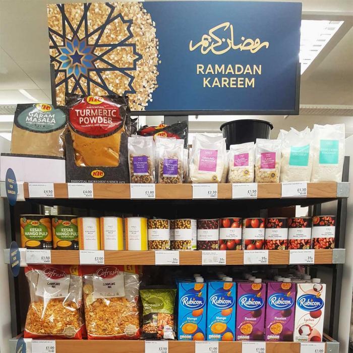 Lewisham Marks and Spencer stock a new Halal food range