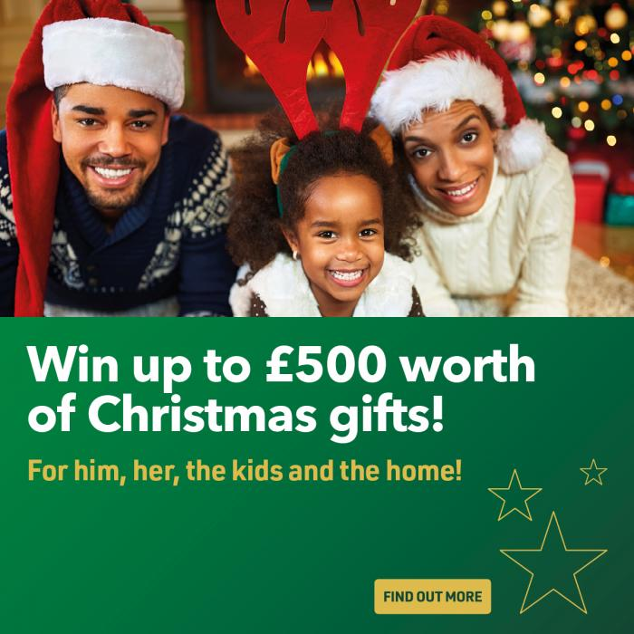 win Christmas competition Lewisham London