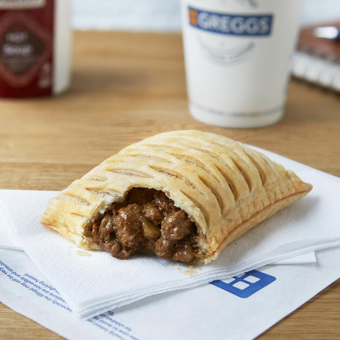 Vegan Steak Bake from Greggs