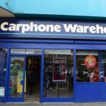 carphone warehouse shop front