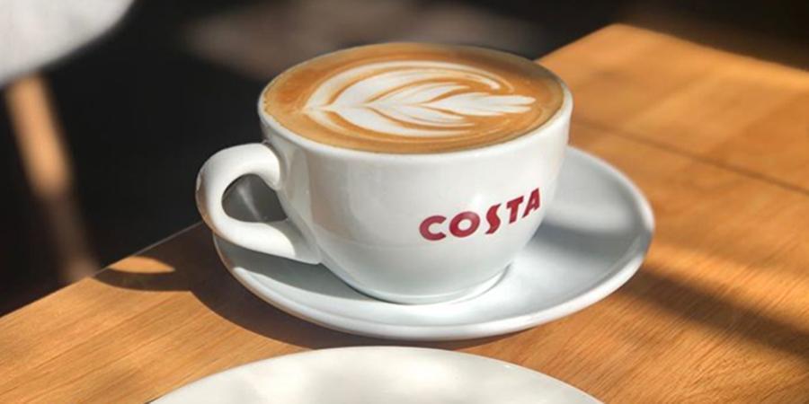 Costa Coffee flat white