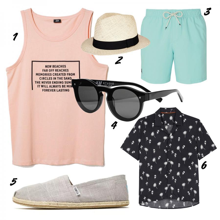 Best beachwear looks for men