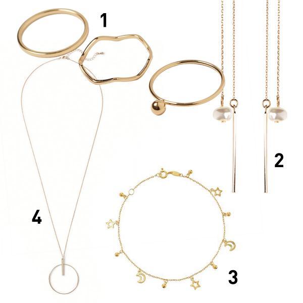 Dainty jewellery trend