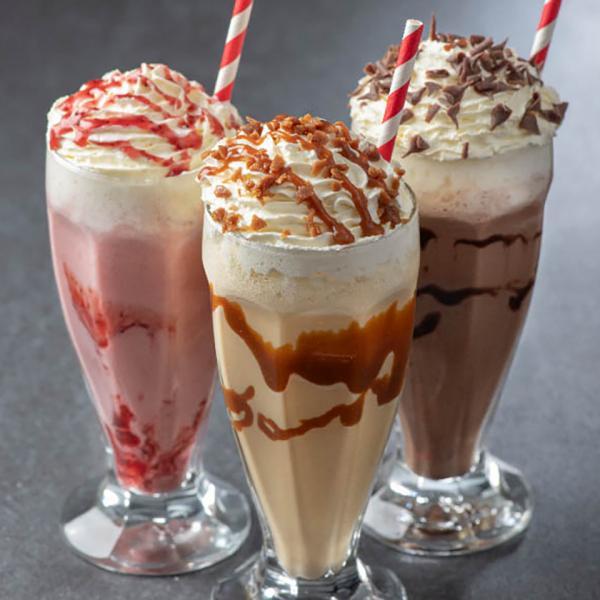 Milkshakes at Muffin Break