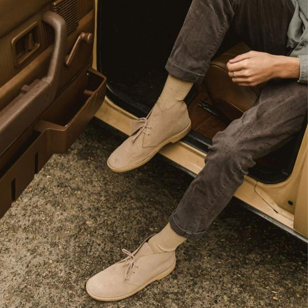 Step into the new season with Clarks iconic Desert Boot